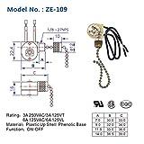 Pull Chain Switch Zing Ear ZE-109 Ceiling Fan