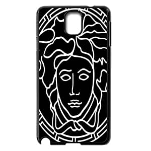 JIUBIE Custom Cover Versace Logo for Samsung Galaxy Note 3 Hard Plastic Case