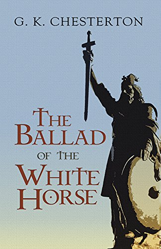Book cover for The Ballad of the White Horse