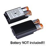 2X Black Battery Pack Cover Shell Case Kit for Xbox