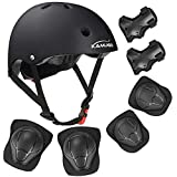 KAMUGO Kids Bike Helmet - Adjustable from Toddler to Youth Size, Ages 3-8 Boys/Girls Multi-Sport Safety Cycling Skating Scooter Helmet - CSPC Certified for Safety