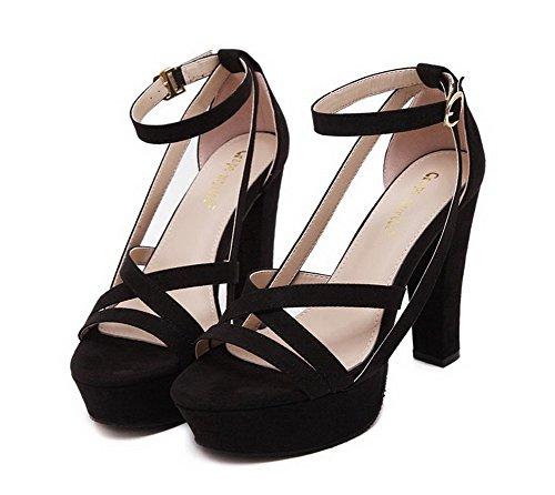 1to9mmsg00100 - Ballerines Pour Femmes, Noir (noir), 35