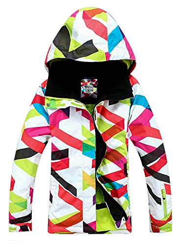 - APTRO Women's Printed Ski Jacket Windproof Waterproof Snowboard Jacket #1405 Size S