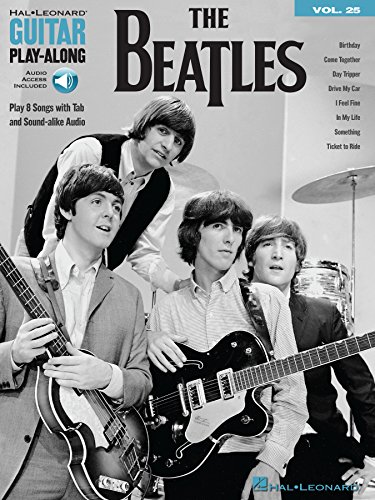 The Beatles: Guitar Play-Along Volume 25 (Hal Leonard Guitar Play-Along)