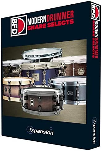 FXPANSION エフエックスパンション BFD3用拡張音源 BFD3/2 Expansion Pack: Modern Drummer Snare Selects