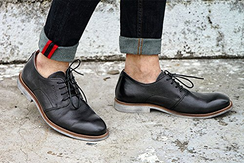 Icegrey Mens Brogue Lace Up Brogues Zwart