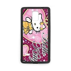Hello Kitty Samsung Galaxy Note 4 Cell Phone Case Black xlb-188010