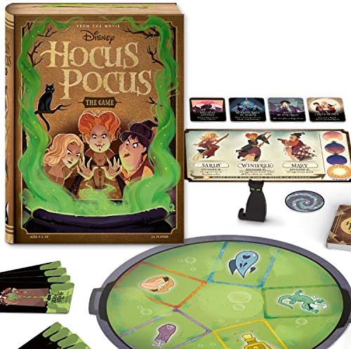 Ravensburger Disney Hocus Pocus: The Game for Ages 8 an Up – A Cooperative Game of Magic and Mayhem