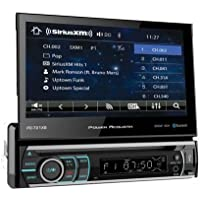 Power Acoustik PD-721XB 1-DIN Source Unit With SXM Interface/Bluetooth/7 LCD