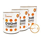 Smart Buy 300 Pack DVD+R 4.7gb 16x Logo Blank Data Video Movie Recordable Disc, 300 Disc 300pk