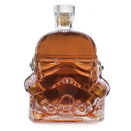 Stormtrooper Star Wars Decanter Rogue One The Force Awakens Helmet Clear Glass Whisky Brandy (Star Wars Stormtrooper Helmet)