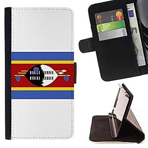 Kingstore / - La bandera de País de Swazilandia - Samsung Galaxy Note 4 IV
