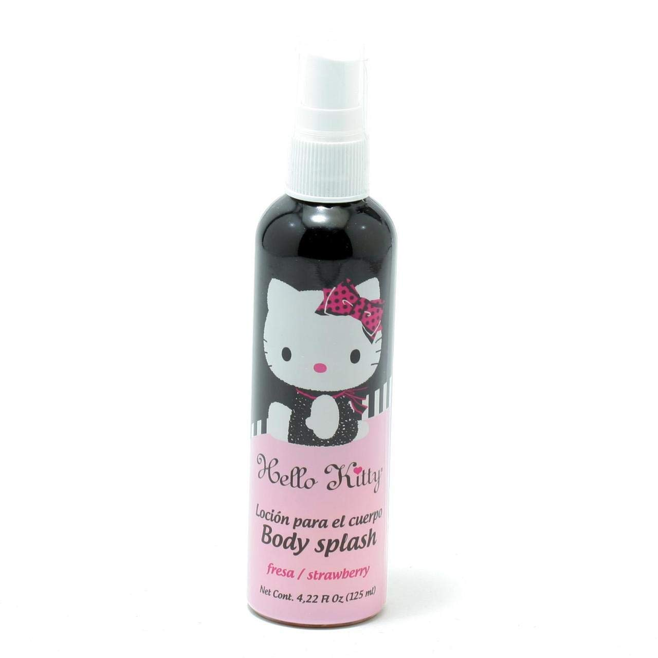 Hello Kitty Body Splash for Kids, Strawberry, 4.22 Ounce 7501611812486