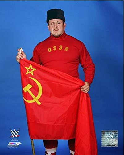 "Nikolai Volkoff WWE Posed Studio Photo (Size: 8"" x 10"")"