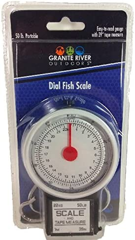 Portable All Utility 2 in 1 Dial Scale and Tape Measure