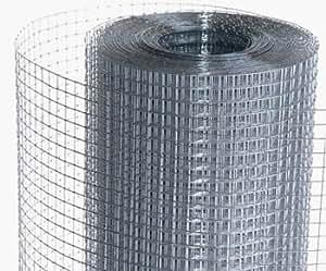 ALEKO® Mesh Wire Roll Cloth 23 Gauge Steel 40 Feet Long 40 Inch Height 1/4 x 1/4 Inch Mesh