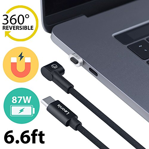 MagSafe Adapter - Apple USB C Cable - Magnetic Charger - Magnetic Adapter - USB C Magnetic - Magnetic USB Adapter - MacBook USB C - USB-C Power Cable - MacBook Pro Charging Cable - Magnetic Type C by Leonis