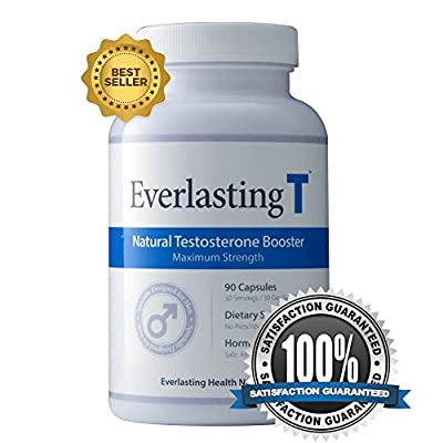 Everlasting T - Testosterone Booster - Natural Testosterone Supplement - Proven Ingredients to Increase Testosterone Levels