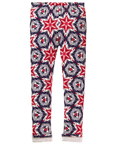 Gymboree Little Girls Her Lil Cozy Legging  Snowflake  M