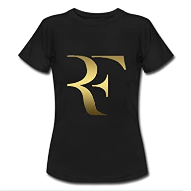 1001d6a9b836c Nesth roger federer Womens Ladies Tee Shirt Customized