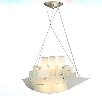 LED Kronleuchter Für Kinderzimmer Nette Einfache Schiffsform Pendelleuchte  Für Jungen Und Mädchen Zimmer