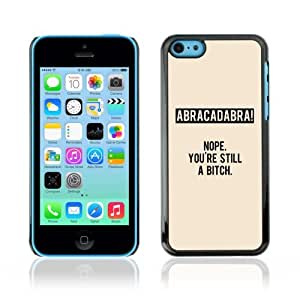 YOYOSHOP [Funny Abracadabra Message LOL WTF] Apple iPhone 5C Case