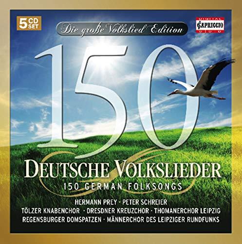 150 German Folksongs (Songs German Folk)