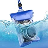 Gold Happy Camera Bag SLR DSLR Waterproof Housing Underwater Camera Case Pouch Dry Bag for Camera