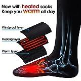 GLOBAL VASION Rechargeable Battery Heated Socks Kit for...