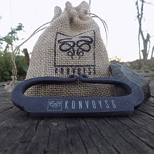 KonvoySG-Flint-and-a-Steel-Striker-Made-From-Carbon-Steel-Along-With-Jute-Carry-Bag