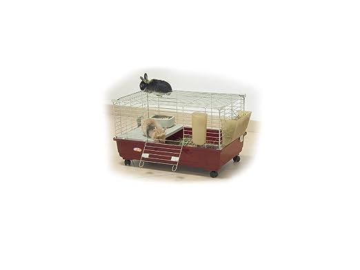 Jaula para Conejos y TOMMY Conejillos de Indias; 72 X 44 X 39 H ...