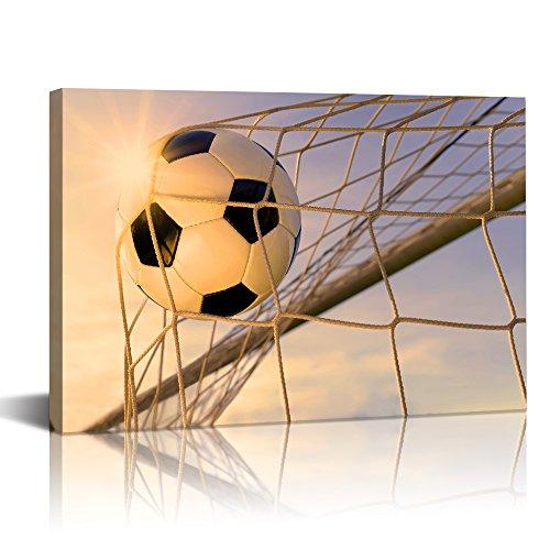 Live Art Decor - Modern Canvas Art Wall Decor Sports Soccer