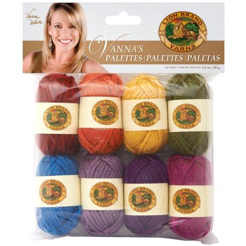 Lion Brand Yarn 865-206 Vanna's Palettes Yarn, Iconic