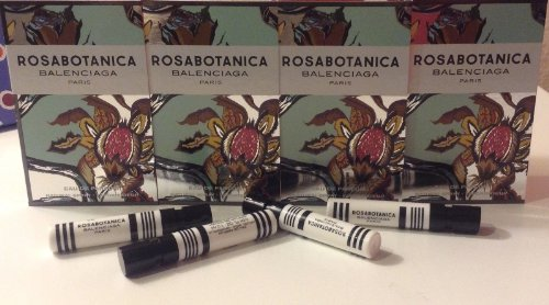Balenciaga Rosabotanica Eau De Parfum Samples Sprays 4 X 1.2 Ml