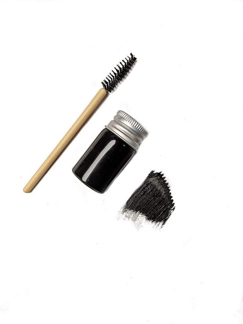 Vegan Zero Waste Mascara, Volumizing Mascara, Organic Mascara, Zero Waste Makeup, Plastic Free Makeup, Cruelty Free, Christmas Gift for Her