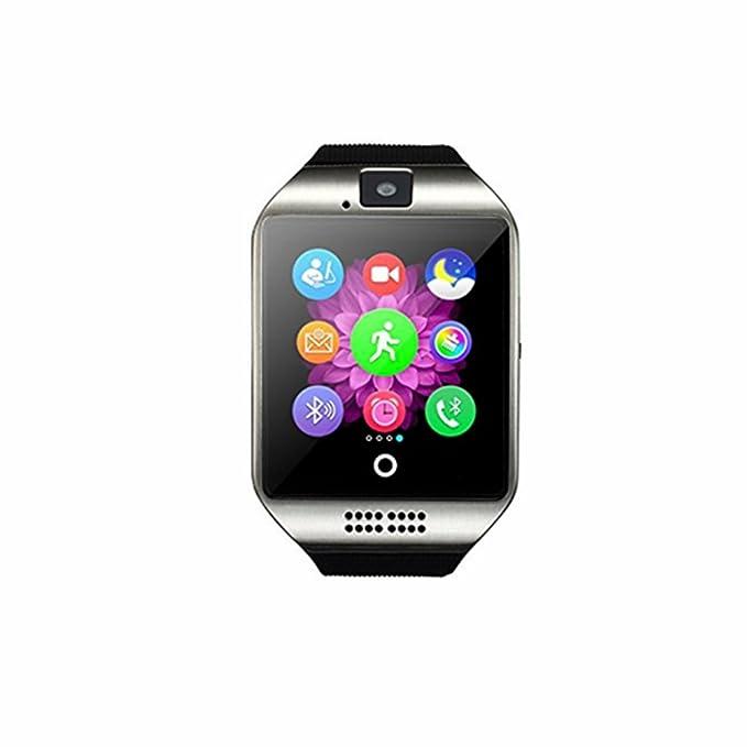 Green Mermaid Q18 Wireless Smartwatch with Camera TF/SIM Card Slot ...