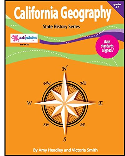 California Geography Unit (EIGHT Literacy-Based Lessons) (Geography Unit)
