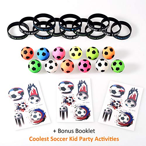 Soccer Favors - Soccer Party Favors with Mini Balls,