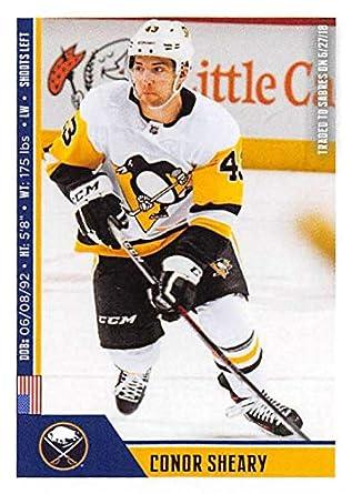 1db946860 Amazon.com  2018-19 Panini NHL Stickers Hockey  37 Conor Sheary ...