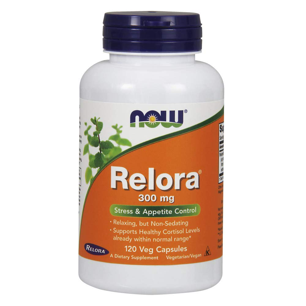 NOW Supplements, Relora 300 mg (a Blend of Plant Extracts from Magnolia officinalis and Phellodendron amurense), 120 Veg Capsules by NOW Foods