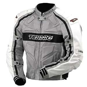 Teknic Motorcycle Jacket - Size 48 - Silver