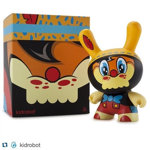 (Kidrobot No Strings on Me Dunny by WuzOne Vinyl Figure)