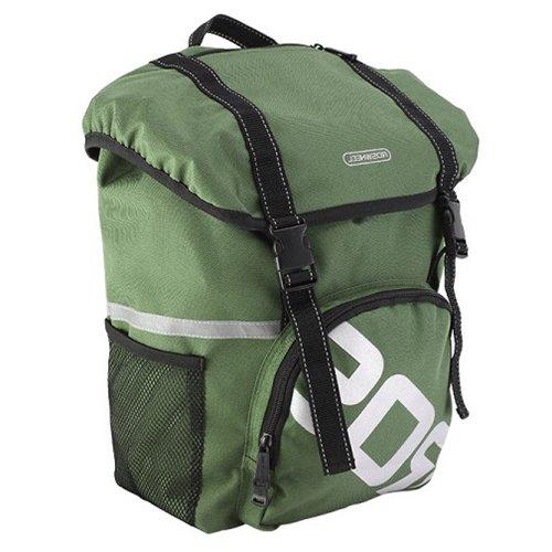 Gepäckträger Fahrrad Tasche–ROSWHEEL Wasserdicht Fahrrad hinten Rack Seat Trunk unterwegs Carry Radfahren Fahrradtasche 15L grün