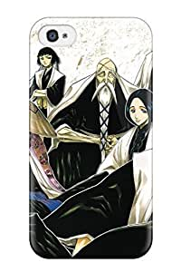 New Snap-on Mary David Proctor Skin Case Cover Compatible With Iphone 4/4s- Bleach Byakuya Kuchiki