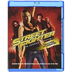 Street Fighter: The Legend of Chun-li Unrated Blu-ray