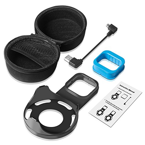 Kupton Wall Mount for Echo Dot 2, Outlet Wall Mount Hanger Holder Stand Clip & Protective Carrying Storage Case Accessories for Echo Dot 2nd Generation Without Messy Wires or Screws – Black by Kupton (Image #6)