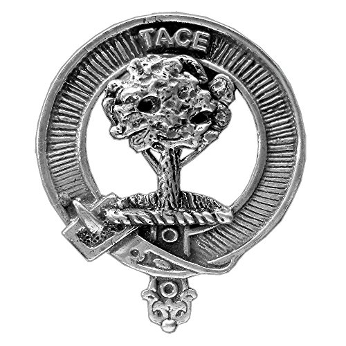 Abercrombie Scottish Clan Crest Badge ~ Sterling Silver by Celtic Studio