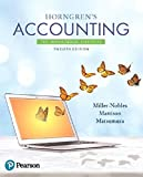 img - for Horngren's Accounting: The Managerial Chapters Plus MyAccountingLab with Pearson eText -- Access Card Package (12th Edition) book / textbook / text book