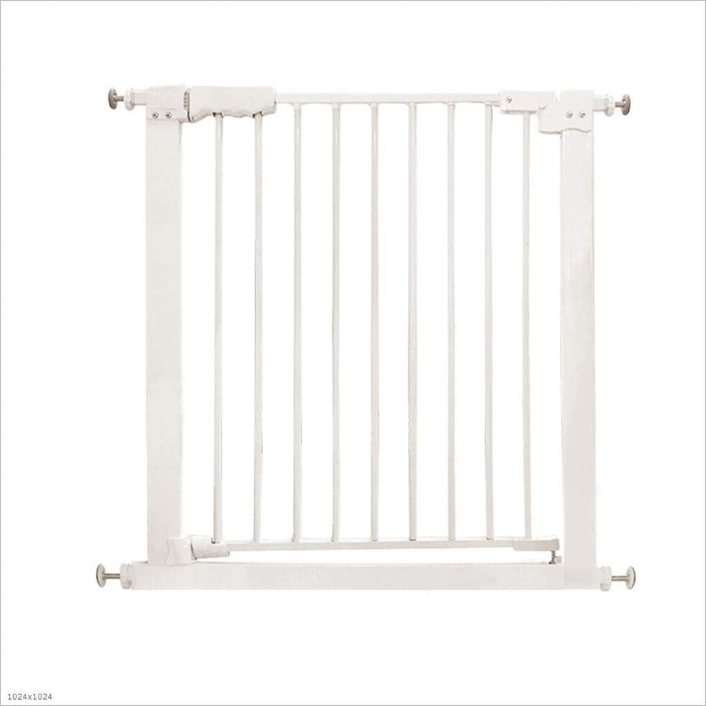 LXLX Puerta de Seguridad para niños, barandilla para bebés, barandilla de la Escalera, Cerca para Mascotas, Cerca de la Puerta, Puerta de Aislamiento para el bebé, Puerta Especial de Pared Cuadrada: Amazon.es: