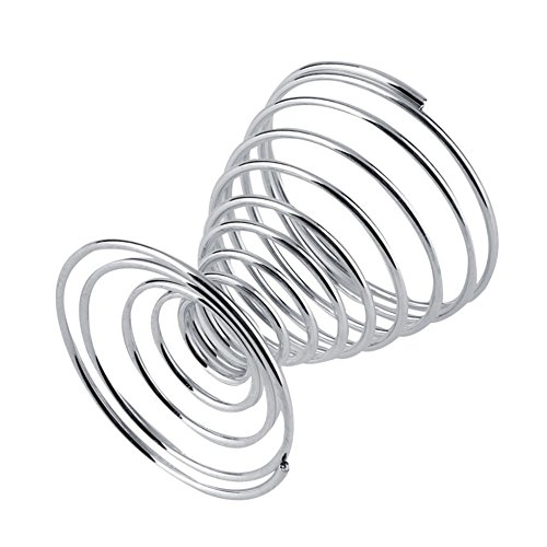 WillowswayW 2Pcs Metal Spiral Wire Tray Egg Cup Storage Holder Stand Kitchen Tool by WillowswayW (Image #1)